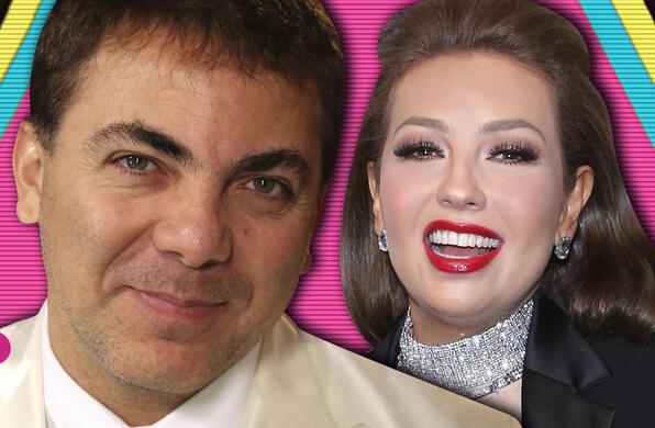 Cristian Castro y Thalía