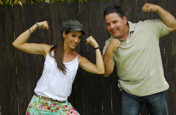 Andrea Minski y José Pérez en SOS Salva Mi Casa