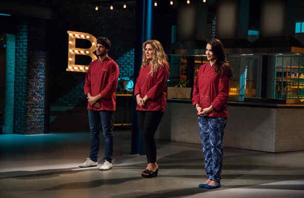 Deliberación en la semifinal de Top Chef Estrellas