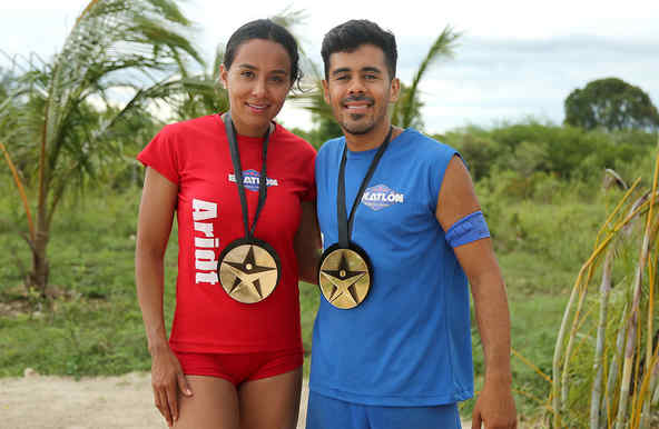 Aridt y Jay presumen sus medallas