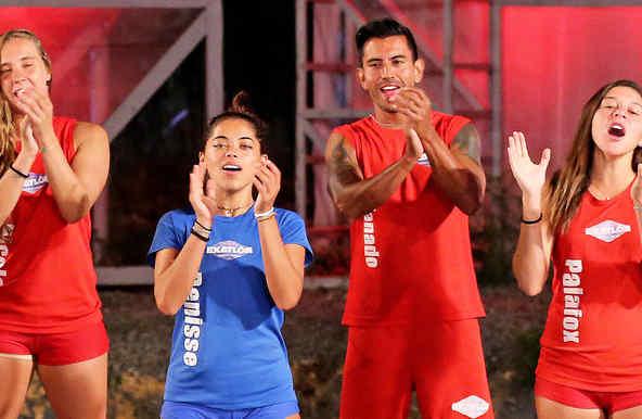 Venado y Denisse aplauden en la Mina