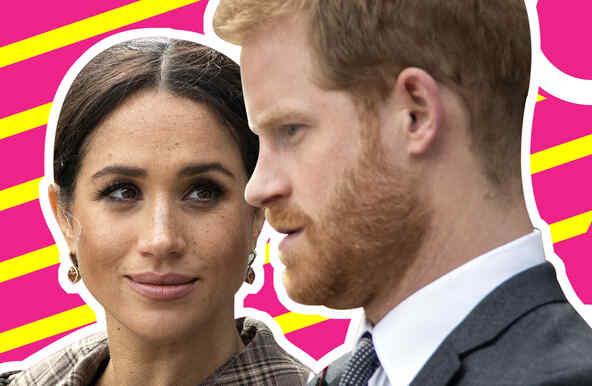 Príncipe Harry y Meghan Markle contrato