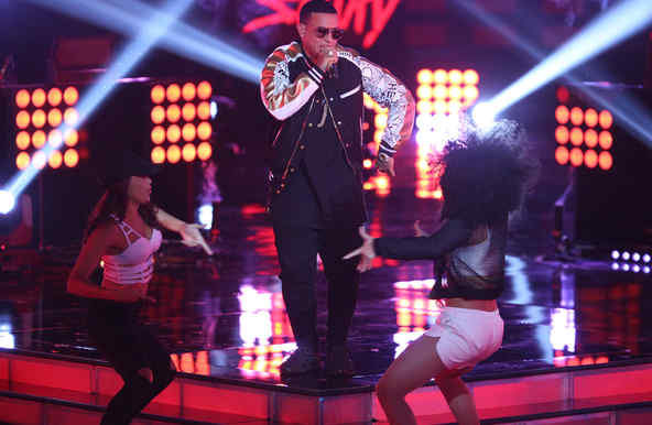 Daddy Yankee en la final de La Voz Kids 2016