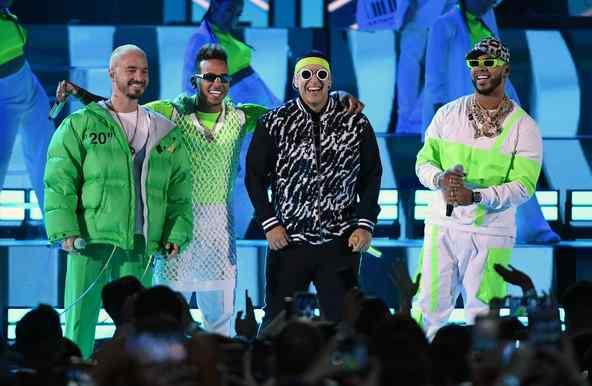 J Balvin, Ozuna, Daddy Yankee, Anuel at 2019 Billboards