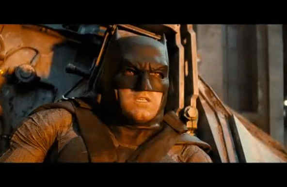 "Ben Affleck en ""Batman v Superman: Dawn of Justice""."