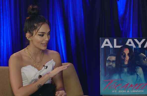 Billboard en Español interview with Venezuelan singer Alaya