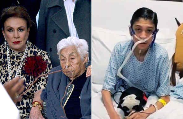 Laura Zapata y su abuela, David Antolín