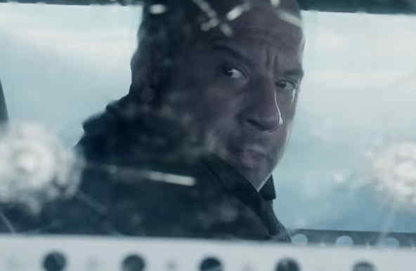 "Vin Diesel en ""The Fate of the Furious"""