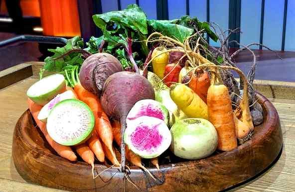 Reto con vegetales al estilo de la Chef Claudia Sandoval en MasterChef Latino 2