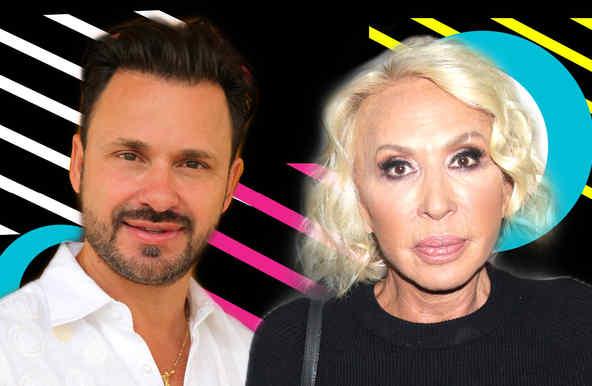 Cristian Zuárez y Laura Bozzo