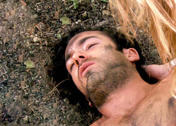 Aarón Díaz desmayado en Tierra de Reyes