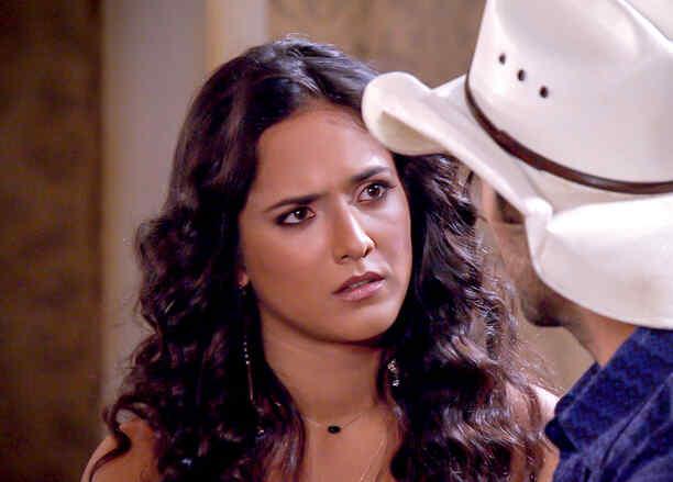 Ana Lorena Sánchez preocupada en Tierra de Reyes