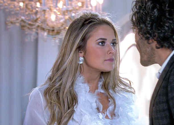 Kimberly Dos Ramos y Gonzalo García Vivanco enfrentados en Tierra de Reyes