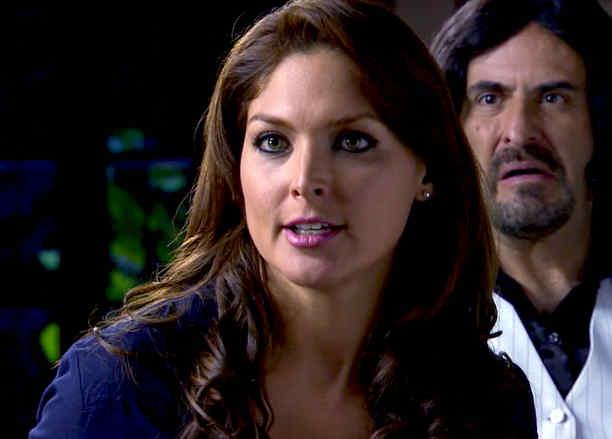 Blanca Soto, Alejandro Calva, juntos, Señora Acero 2