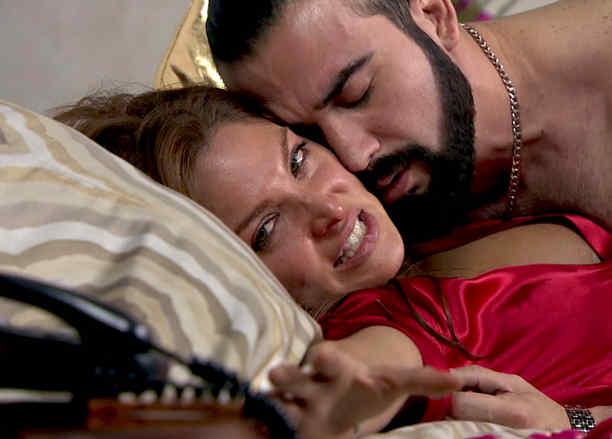 Blanca Soto, José Luis Reséndez, juntos, Señora Acero 2