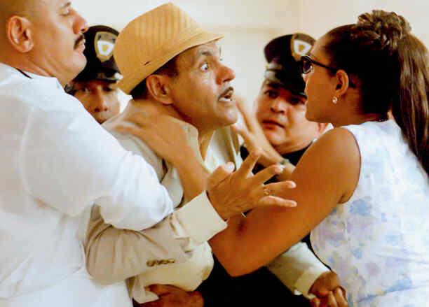 Moisés Angulo y Jeimy Osorio en Celia