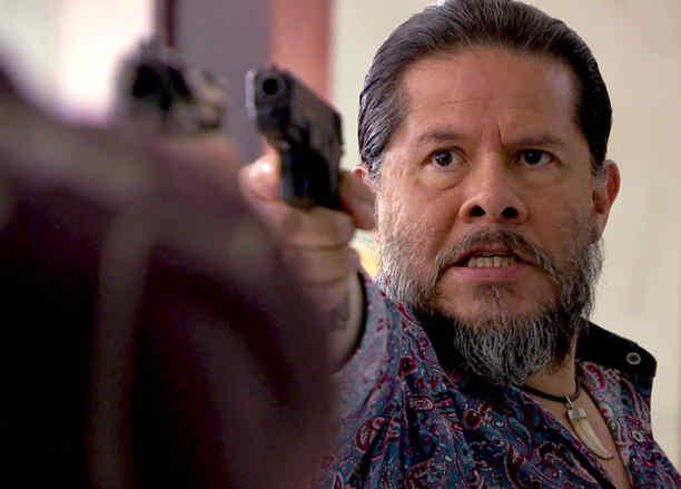 Jorge Zárate, El Indio Amaro, amenazado, Señora Acero 2