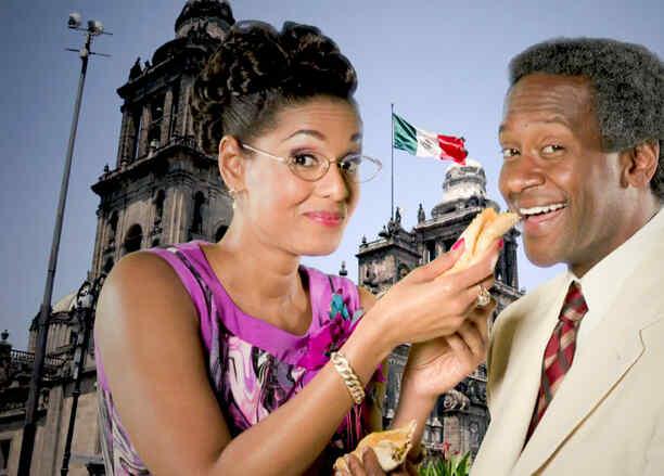 Jeimy Osorio y Modesto Lacén en Celia