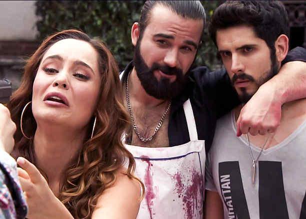 José Luis Reséndez, Ana Lucía Dominguez, juntos, Señora Acero 2