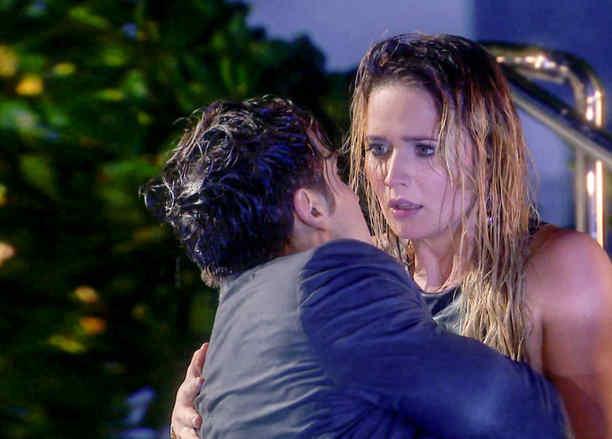 Eugenio Siller y Kimberly Dos Ramos en ¿Quién en Quién?