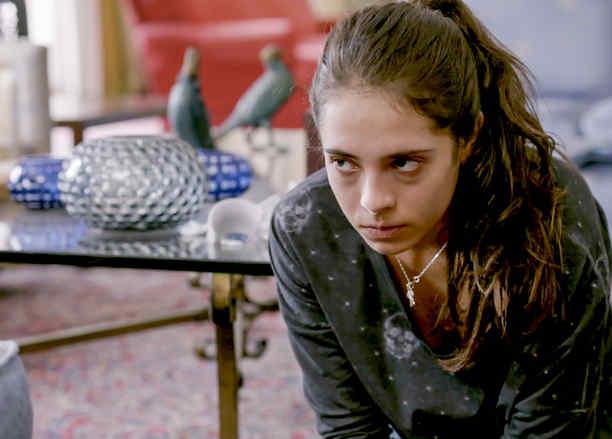 Arantza Ruiz, Cristina Acosta, llorando, La Querida del Centauro