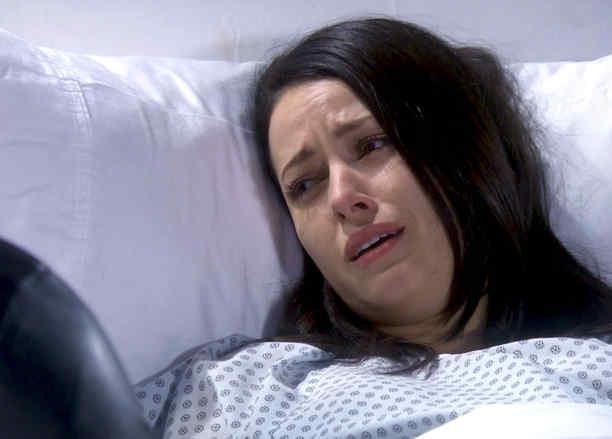 Sofía Lama en el hospital en Eva la Trailera