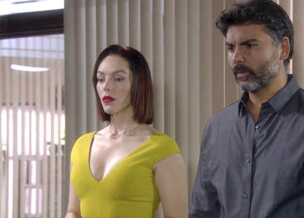 Erika de la Rosa y Jorge Luis Pila amenazados por el capo  en Eva la Trailera