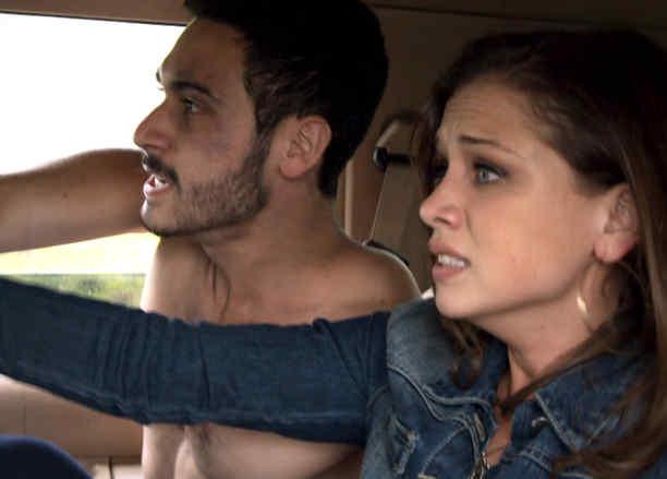 Carolina Miranda y Alejandro Speitzer en Señora Acero 3