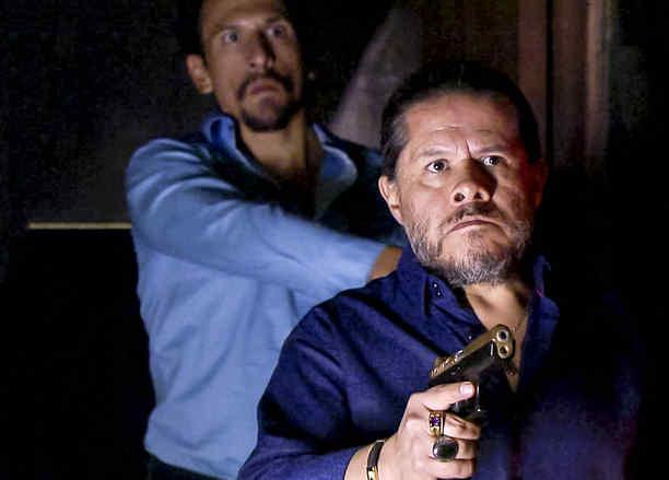 Jorge Zárate, Indio Amaro, furioso, Señora Acero 3 La Coyote
