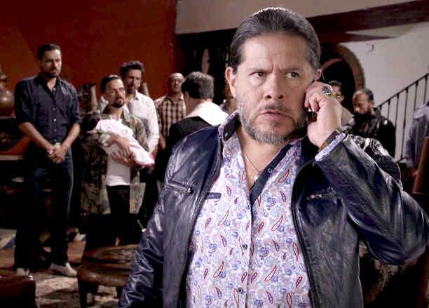 Jorge Zárate, Indio Amaro, furioso, Señora Acero La Coyote