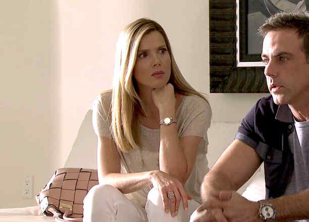 Maritza Rodríguez y Carlos Ponce en Silvana Sin Lana