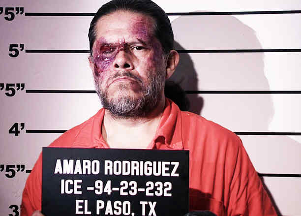 Jorge Zárate, Indio Amaro, detenido, Señora Acero La Coyote