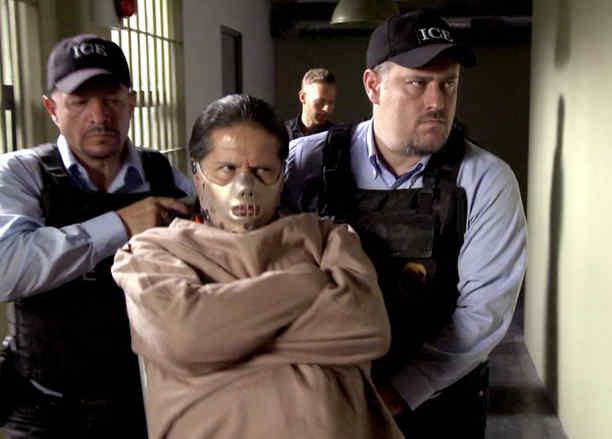 Jorge Zárate, Indio Amaro, arrestado, Señora Acero La Coyote