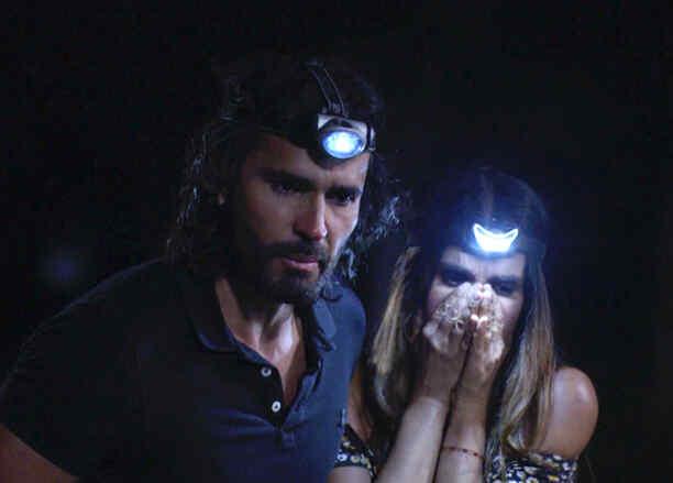 Fabian Rios y Catherine Siachoque en Sin Senos Sí Hay Paraíso
