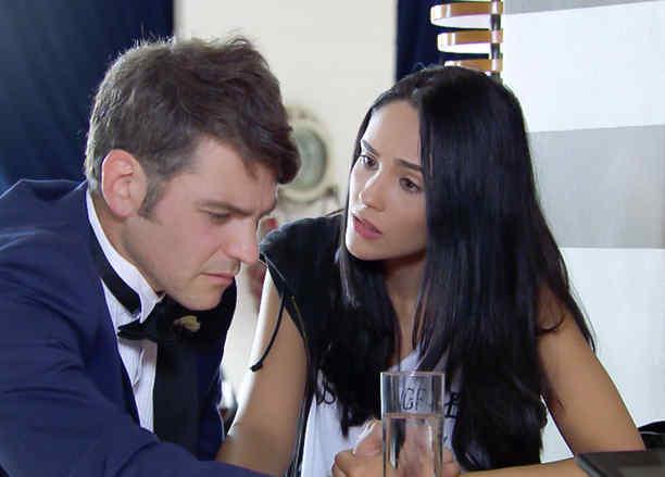 Alexandra Pomales y Vince Miranda en Silvana Sin Lana