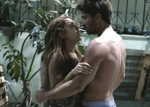 Danna Paola y David Chocarro en la Doña