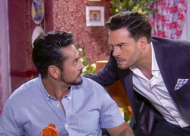 Gabriel Porras, Juan Pablo Espinosa, discutiendo, La Fan