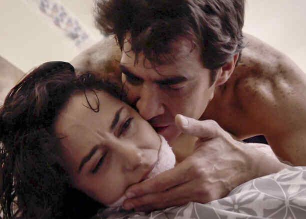 Pilar Santacruz y Luis Gerónimo Abreu en El Chema