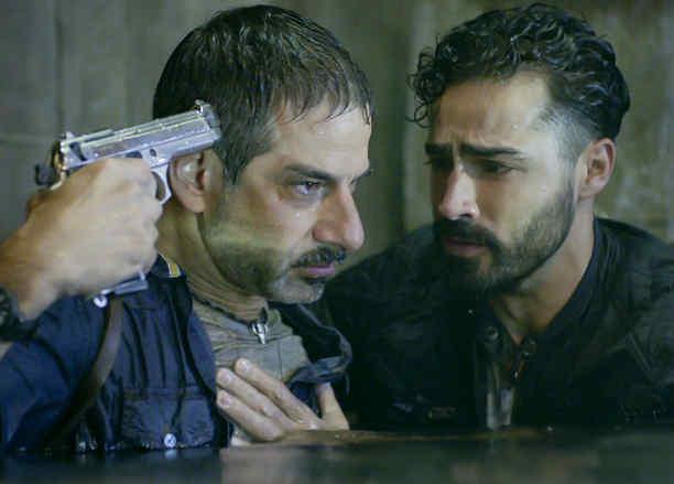 Miguel Rodarte y Claudio Lafarga en El Capo