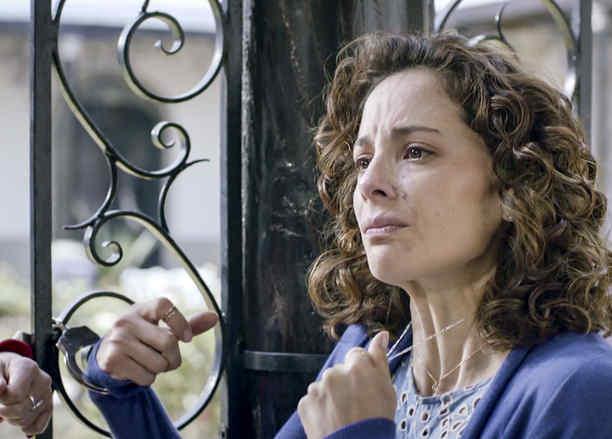 Marisol Del Olmo, María Guadalupe, llorando, El Capo