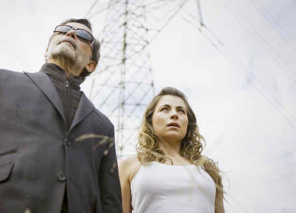 Ludwika Paleta y Humberto Zurita en La Querida del Centauro