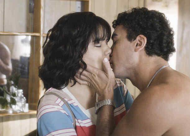 Samadhi Zendejas y Tony Garza en Mariposa De Barrio