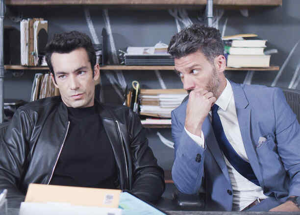 Erick Elias y Aaron Diaz En Betty En NY