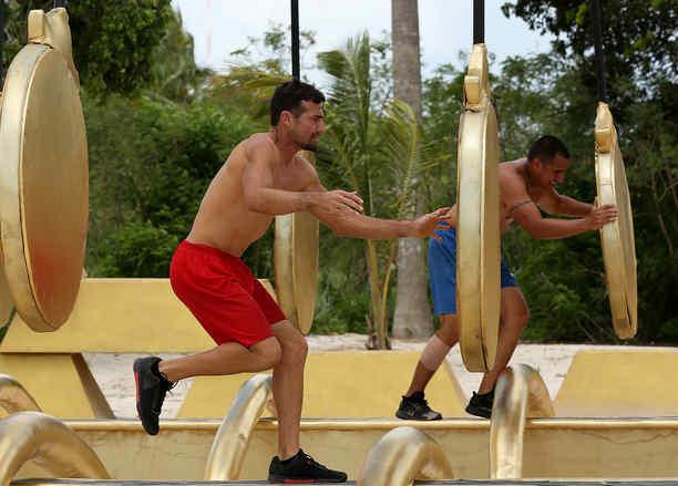 Alexander Rodríguez y Javier Lucero compiten en el circuito dorado
