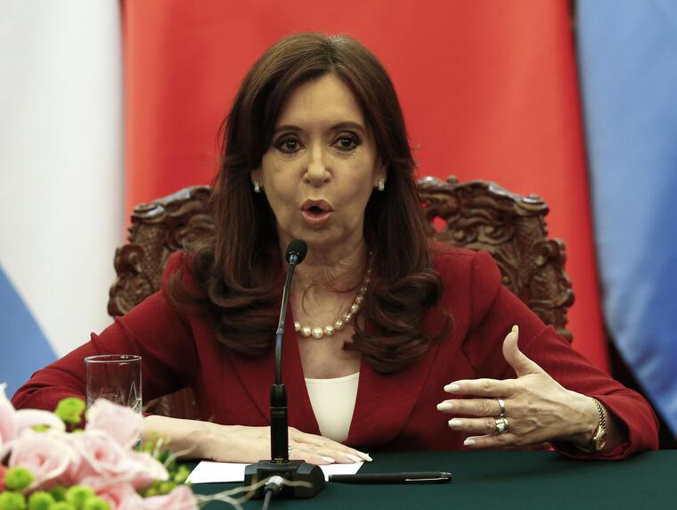 Cristina Fernandez de Kirchner Presidenta de Argentina