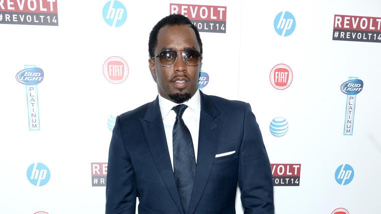 "Sean ""Diddy"" Coms upfront Revolt TV"