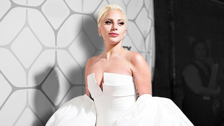 Lady Gaga en el after party de los Emmys