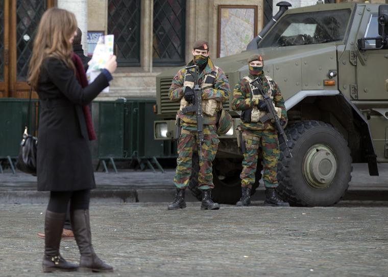 bruselas blindada