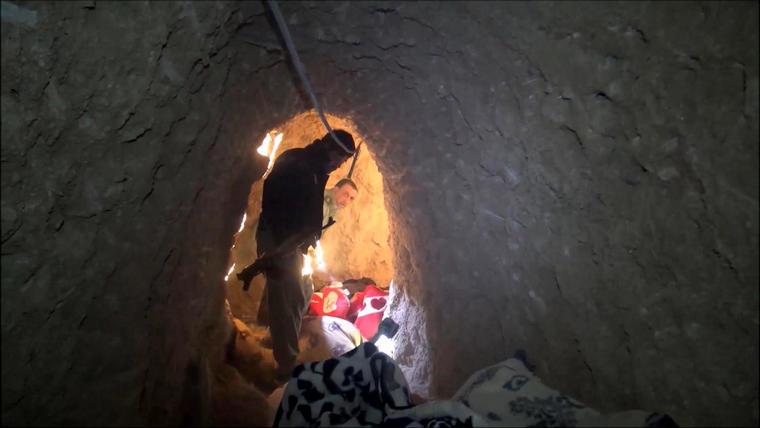 tunel de isis en irak