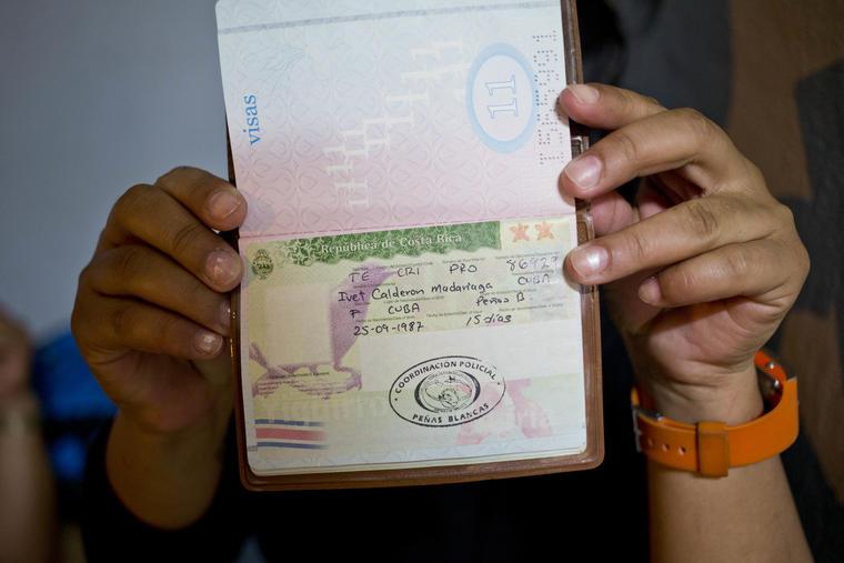 pasaportes cubanos